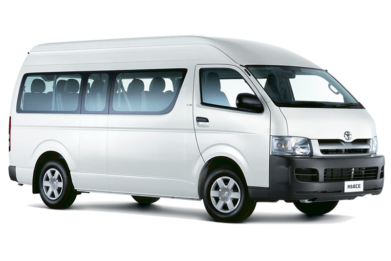 Sewa Toyota Hiace Minibus